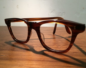 Vintage UK 1980's small tortoise shell NHS optical frames.