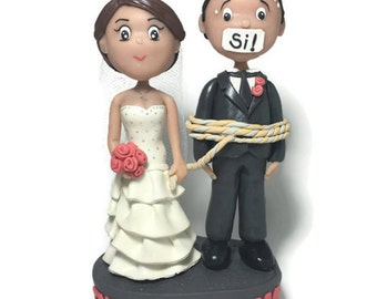 Funny wedding cake toppers Etsy