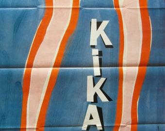 Original 1993 Grande French Movie Poster - 'Kika' by Pedro Almodovar