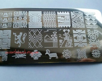 Nail stamping plaque pour stamping nail art-QC-L11
