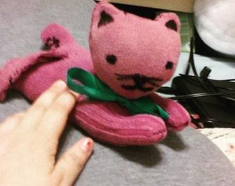 Purple Cat Plush