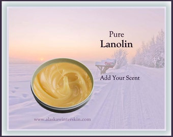 Lanolin, 100% Pure, Add Your Scent