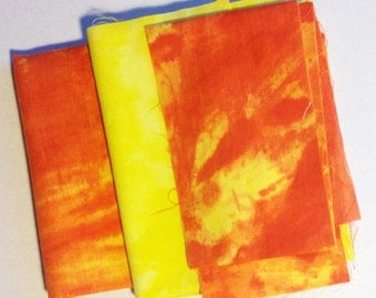 Hand Dyed Fabric Mix 10