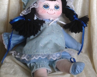 Vintage Homemade Cloth Doll