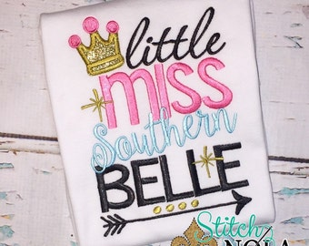 SHIPS FAST!!  Little Miss Southern Belle