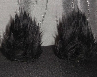 Handmade Silver Fox Ears