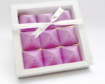 Tea Pyramid Gift Box : Violet Valentina