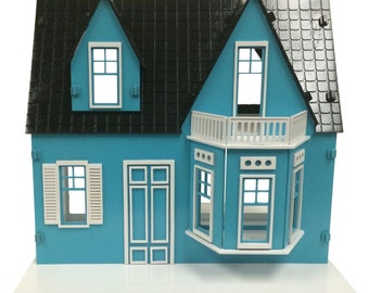 Shirley Temple Dollhouse Painted and Assembled