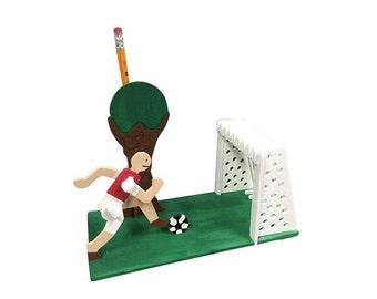 Soccer Pen/Pencil Holder Kit