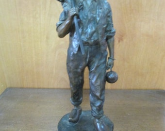 Bronze Sculpture of a Farmer by Jean Garnier