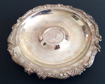 Silver Plated Chip Bowl