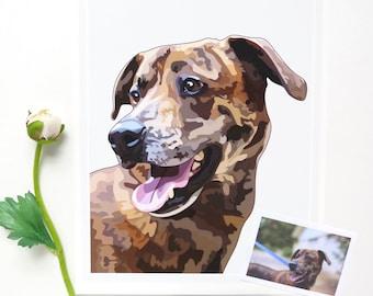 Dog Portrait, Custom Dog Portrait, Pet Portrait Custom, Pet Portrait, Dog Portrait Custom, Dog Print, Dog Art, Custom Dog Art, My Dog Art