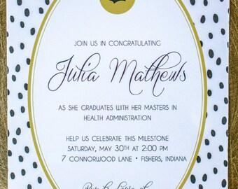 Graduation Open House Invitation