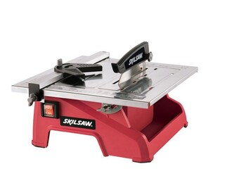 7-Inch Wet Tile Saw miter Rock Stone Cutter Table Top Crafts