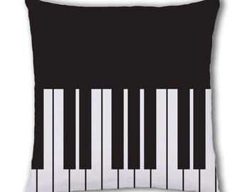 Piano Design Cushion Cover (C732)