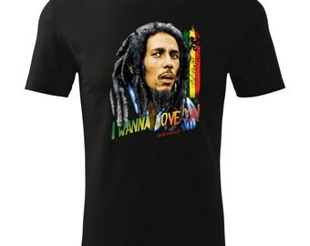 Bob marley t-shirt/bob marley shirt/ Band t-shirt/ Band tee