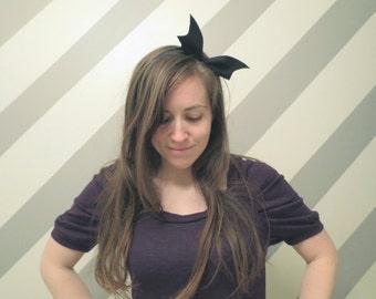 Black Bat Headband!