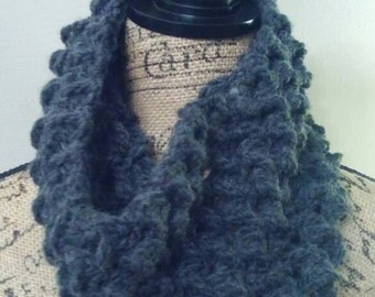 Kenzie - grey days can be great  days chunky cowl.