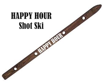 ShotSki, shot ski, HAPPY HOUR Shots! Take 4 Shots Together w/ Friends & Family, Drinking Game/Activity