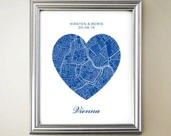 Vienna Heart Map