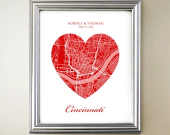 Cincinnati Heart Map
