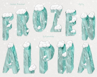 Frozen ice clipart – Etsy