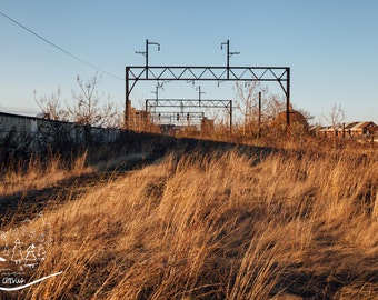 Philadelphia Photography, Urban City Landscape, Abandoned Photography, Train Photography, Fine Wall Art