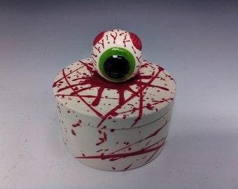 Eyeball Jewelry Box, Halloween Box