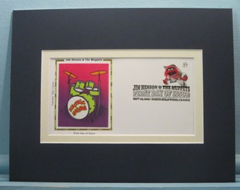 Jim Henson and The Muppets - Animal and Doctor Teeth - The Electric Mayhem Band & First Day Cover of his stamp