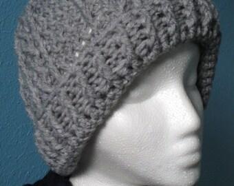 Women's Gray Winter Beanie