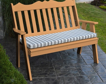Recycled Plastic Royal English 4ft. Garden Bench