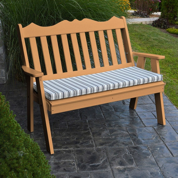 Recycled Plastic Royal English 4ft Garden Bench