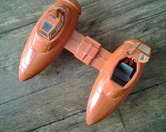 1980 Twin-Pod Cloud Car, Star Wars - Empire Strikes Back Vehicle.  Loose.  Kenner