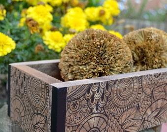 Box wood (wood box)