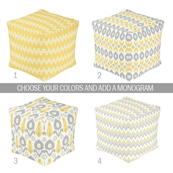 items similar to ottoman pouf baby ikat nursery decor baby blanket ikat zipper throw pillow. Black Bedroom Furniture Sets. Home Design Ideas