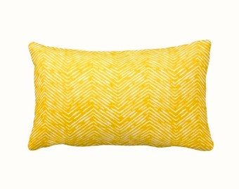 7 Sizes Available: Yellow Throw Pillow Cover Decorative Pillow Yellow Cushion Cover Yellow Pillow Sham Herringbone Pillow Yellow Pillow