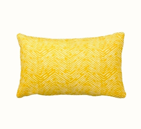 Dimensions Of Throw Pillow : 7 Sizes Available: Yellow Throw Pillow Cover by ReedFeatherStraw