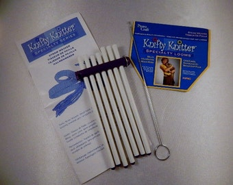 knifty knitter straw weaver loom