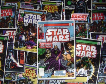 Star Wars Comic Book Cotton Fabric Sold by the Yard