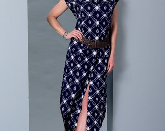McCalls Pattern M7387 Misses' Button-Down Top, Tunic, Dresses and Belt