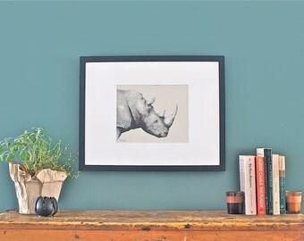 Rhino :  Print