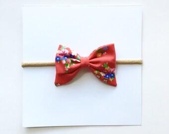 Mini Sailor ~ Red Floral
