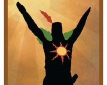 Praise it! Solaire minimal stylish print / poster