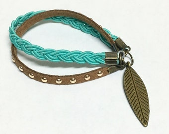The Gypsy (Turquoise & Brown)