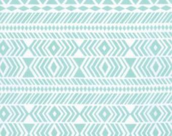WANDER by Joel Dewberry for Free Spirit Fabrics - Tribe in Aqua