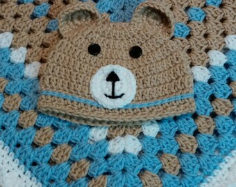 Baby Bear Hat for newborn-3months