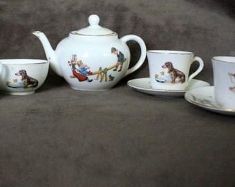 Antique 1920's Children's Tea Set