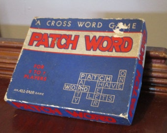 Patch Word - A Cross Word Game