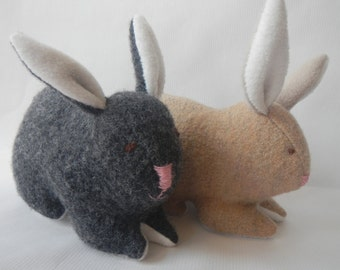 Animal softie-Bunny Softie-Sewing pattern-PDF-Instant Upload-toy, softie, plushie
