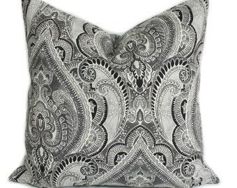 Gray pillow cover, Gray pillow, Decorative pillow, Throw pillow, Accent pillow, Sham, Sofa cushion, 16x16, 18x18, 20x20, 22x22, 24x24, 26x26